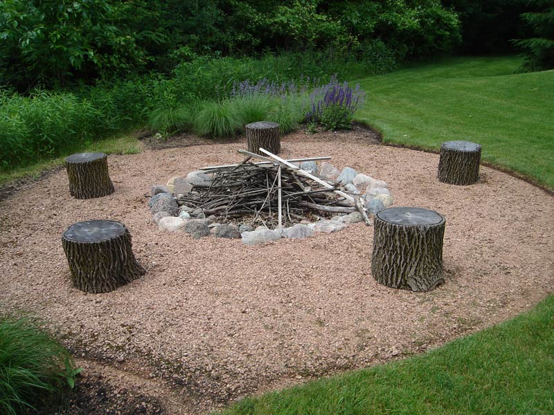 Crushed stone surface sprout landscape garden design for Surface design landscape