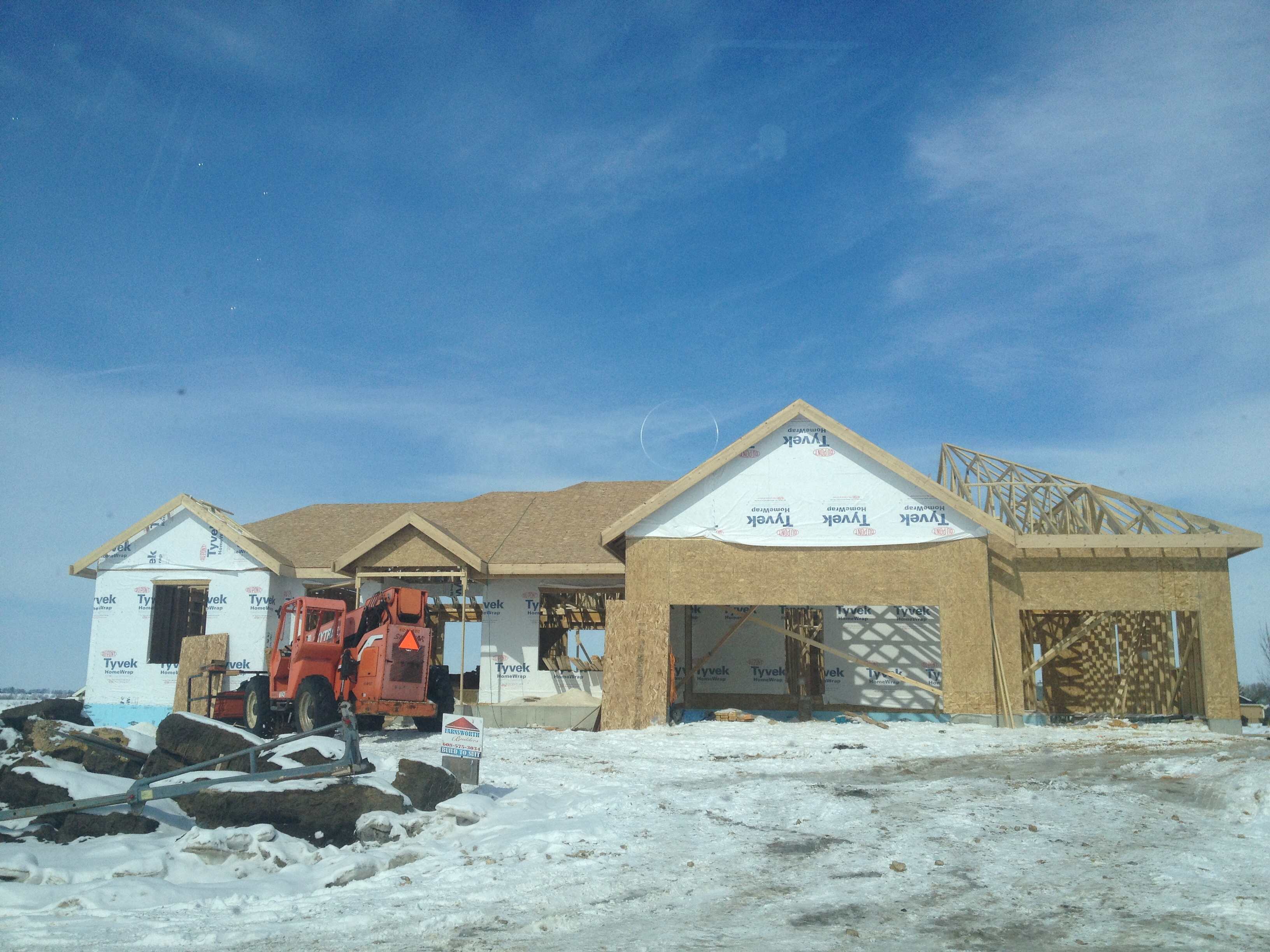 Work on the Parade of Homes begins in winter